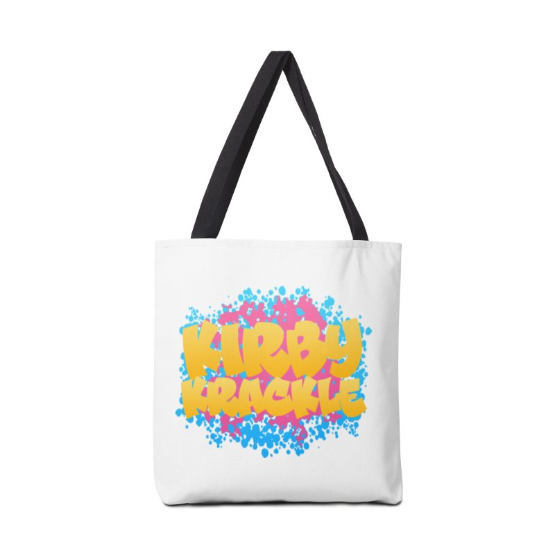 Kirby Krackle - Harajuku Logo Accessories Bag by Kirby Krackle's Artist Shop
