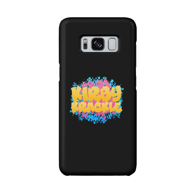 Kirby Krackle - Harajuku Logo Accessories Phone Case by Kirby Krackle's Artist Shop