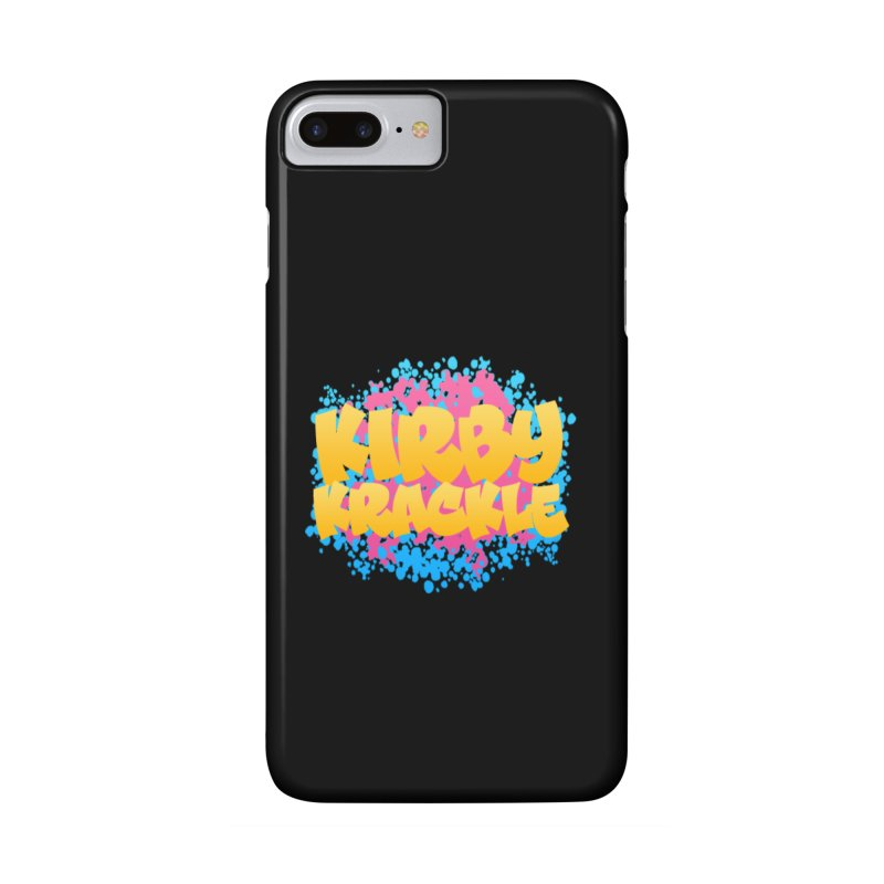 Kirby Krackle - Harajuku Logo Accessories Phone Case by Kirby Krackle's Artist Shop