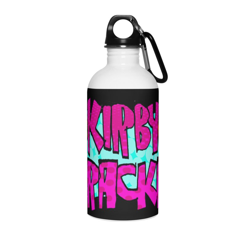 Kirby Krackle - 2017 Logo Accessories Water Bottle by Kirby Krackle's Artist Shop