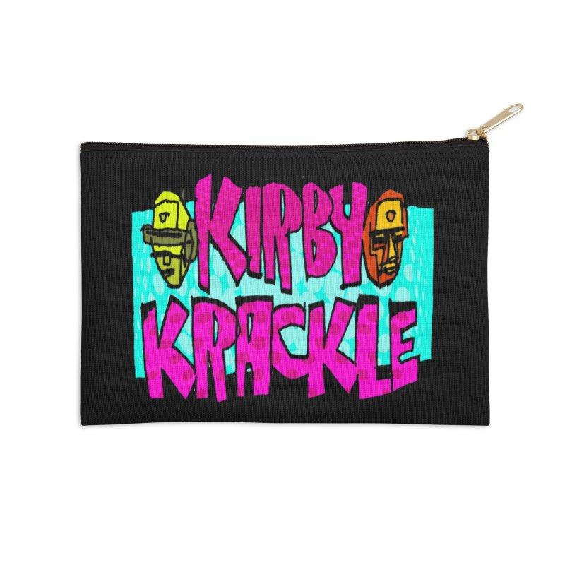Kirby Krackle - 2017 Logo Accessories Zip Pouch by Kirby Krackle's Artist Shop
