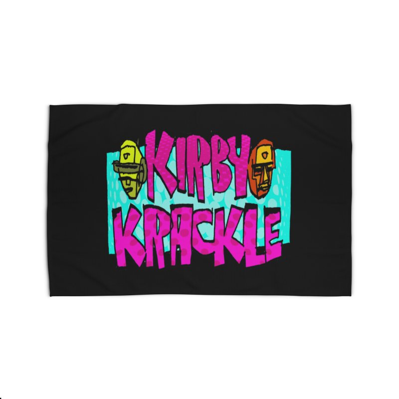 Kirby Krackle - 2017 Logo Home Rug by Kirby Krackle's Artist Shop