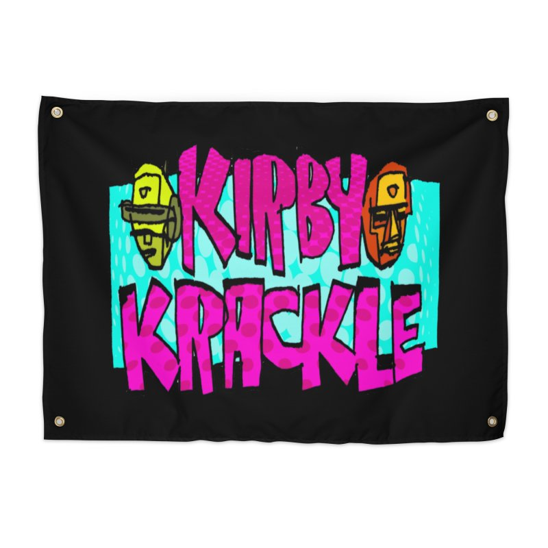 Kirby Krackle - 2017 Logo Home Tapestry by Kirby Krackle's Artist Shop