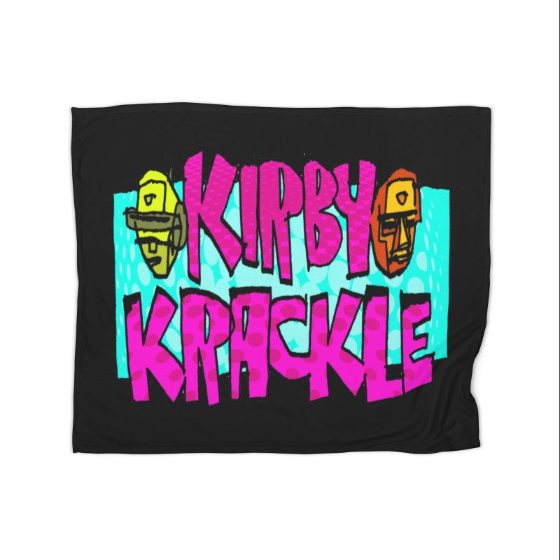 Kirby Krackle - 2017 Logo Home Blanket by Kirby Krackle's Artist Shop