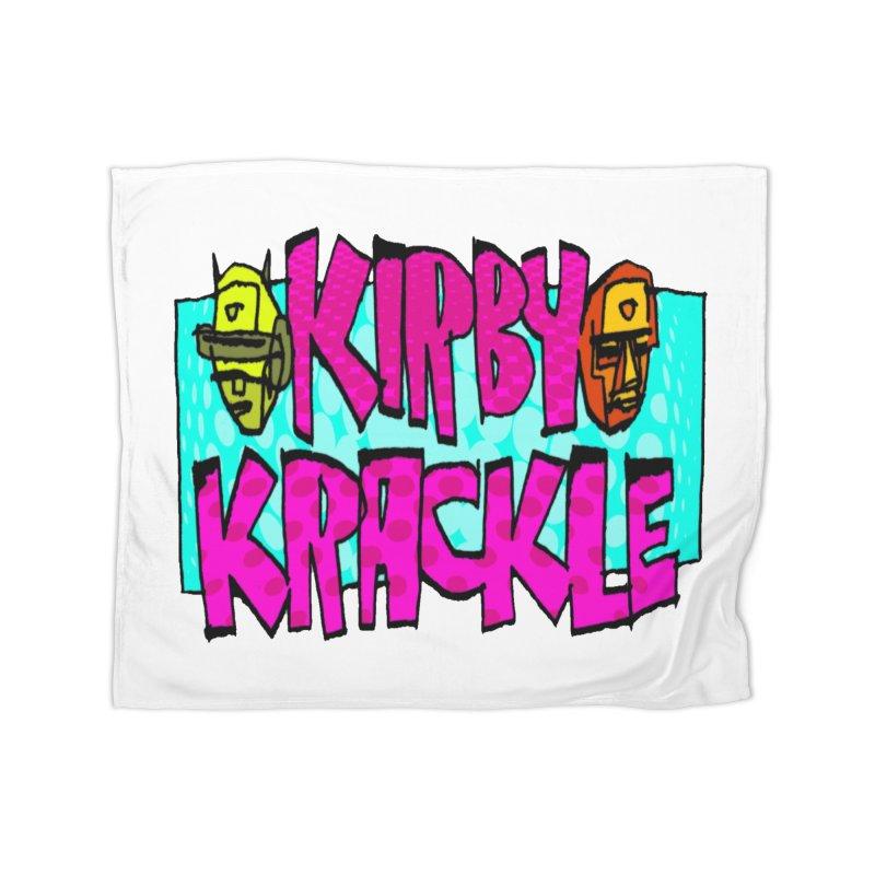 Kirby Krackle - 2017 Logo Home Blanket by Kirby Krackle's Artist Shop