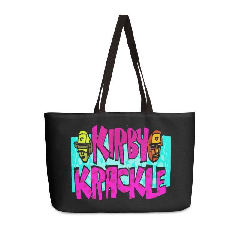 Kirby Krackle - 2017 Logo Accessories Weekender Bag Bag by Kirby Krackle's Artist Shop