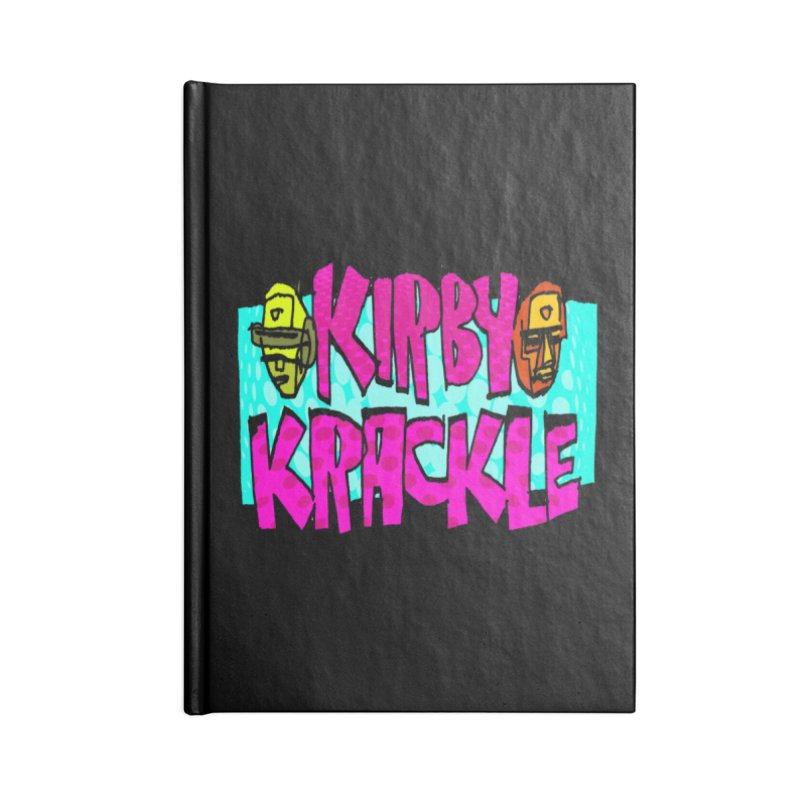 Kirby Krackle - 2017 Logo Accessories Lined Journal Notebook by Kirby Krackle's Artist Shop