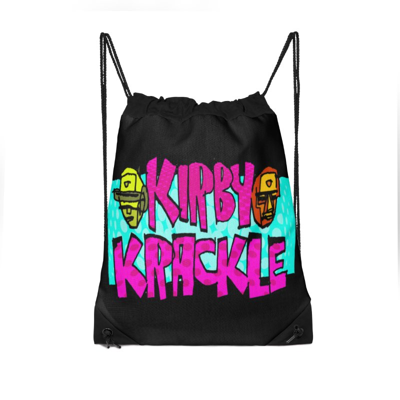 Kirby Krackle - 2017 Logo Accessories Drawstring Bag Bag by Kirby Krackle's Artist Shop