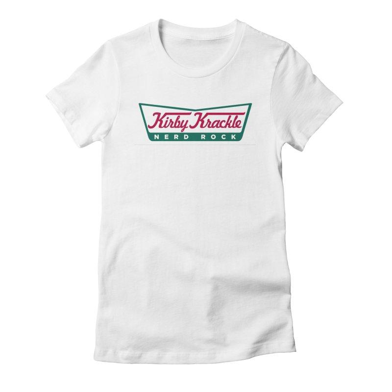 Kirby Krackle - Donut Logo Women's T-Shirt by Kirby Krackle's Artist Shop