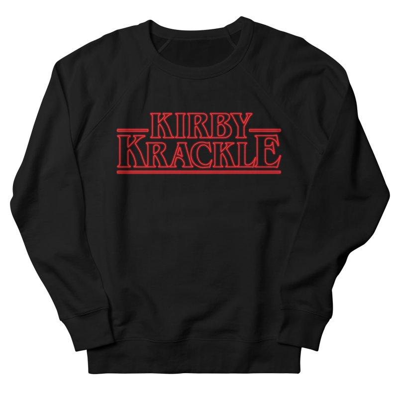 Kirby Krackle - Stranger Logo (Neon) Men's Sweatshirt by Kirby Krackle's Artist Shop