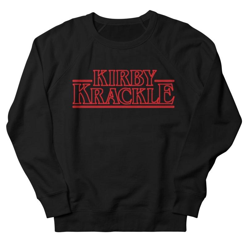 Kirby Krackle - Stranger Logo (Neon) Women's French Terry Sweatshirt by Kirby Krackle's Artist Shop