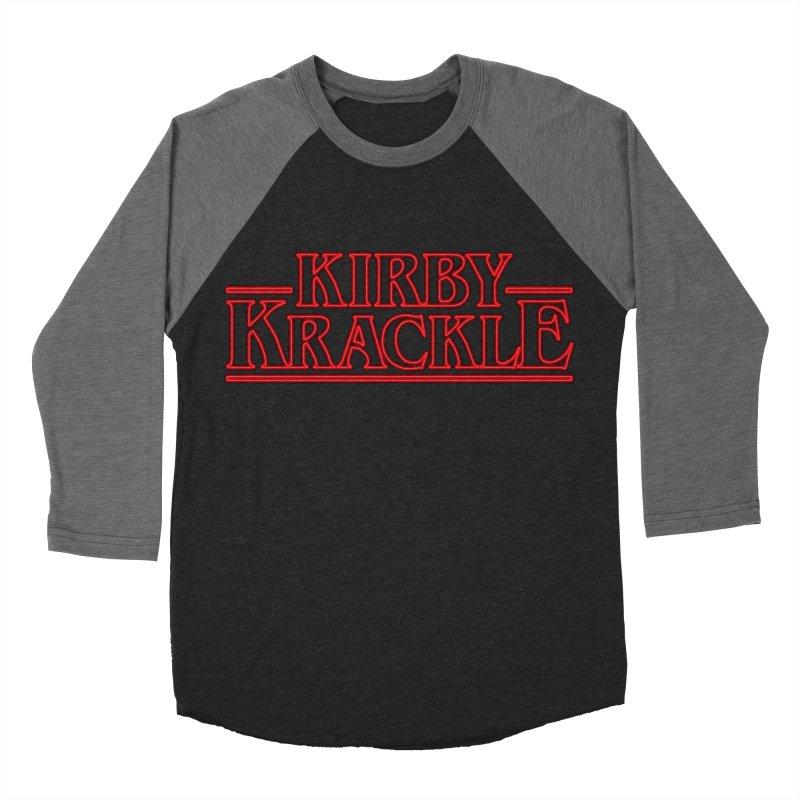Kirby Krackle - Stranger Logo (Neon) Women's Baseball Triblend Longsleeve T-Shirt by Kirby Krackle's Artist Shop