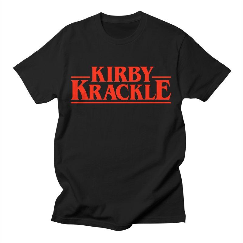 Kirby Krackle - Stranger Logo (Solid) Men's T-Shirt by Kirby Krackle's Artist Shop