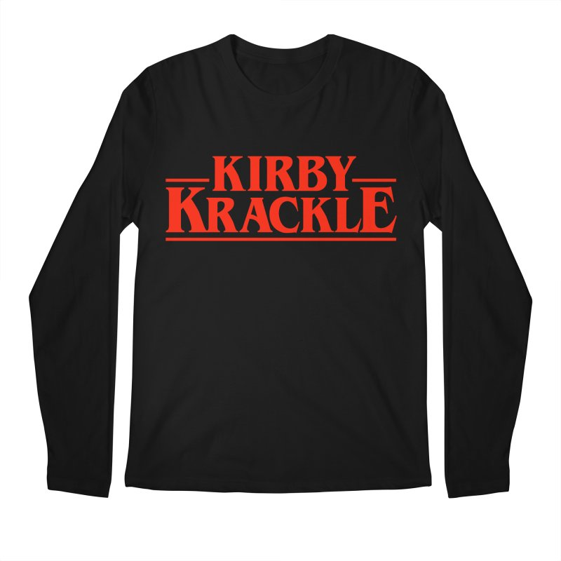 Kirby Krackle - Stranger Logo (Solid) Men's Regular Longsleeve T-Shirt by Kirby Krackle's Artist Shop