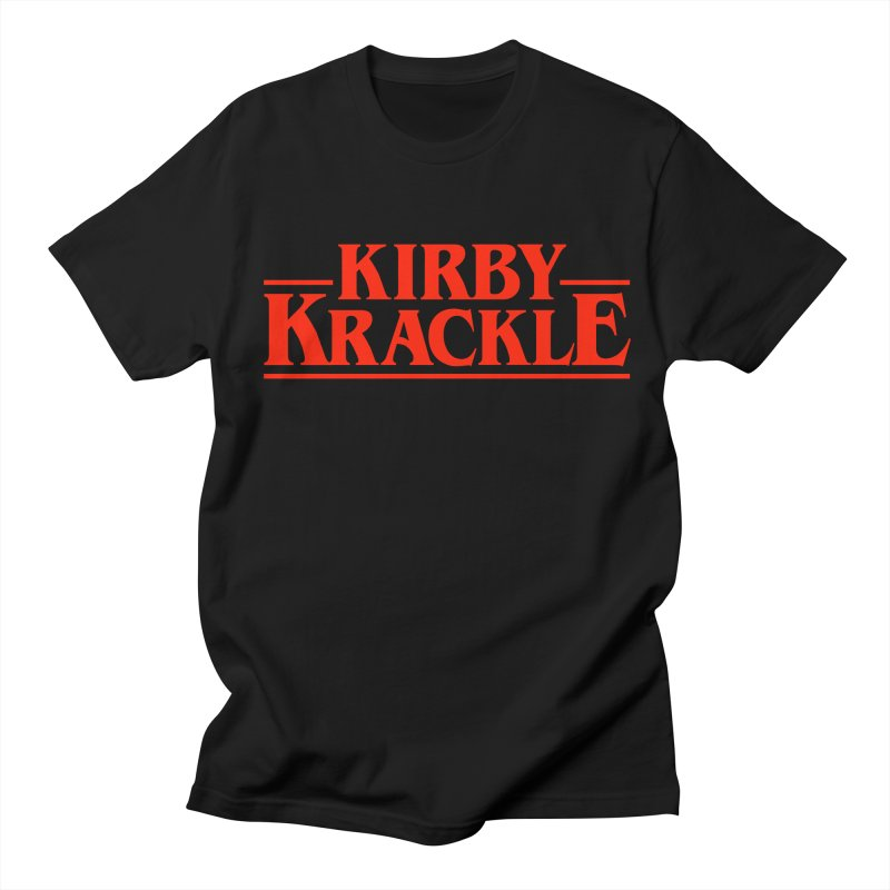 Kirby Krackle - Stranger Logo (Solid) Men's Regular T-Shirt by Kirby Krackle's Artist Shop
