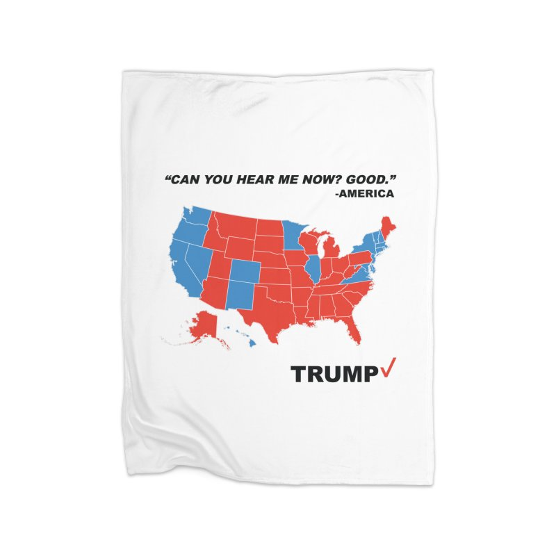 Mr President. Home Blanket by kirbymack's Artist Shop