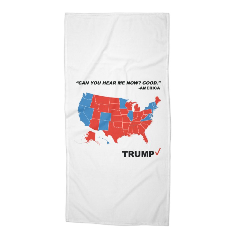 Mr President. Accessories Beach Towel by kirbymack's Artist Shop
