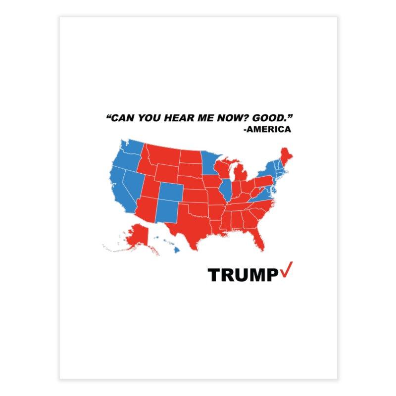 Mr President. Home Fine Art Print by kirbymack's Artist Shop