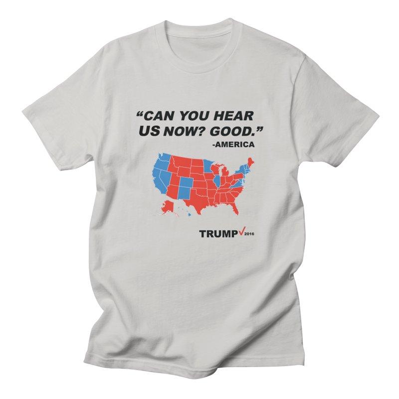 Mr President. Men's T-Shirt by kirbymack's Artist Shop