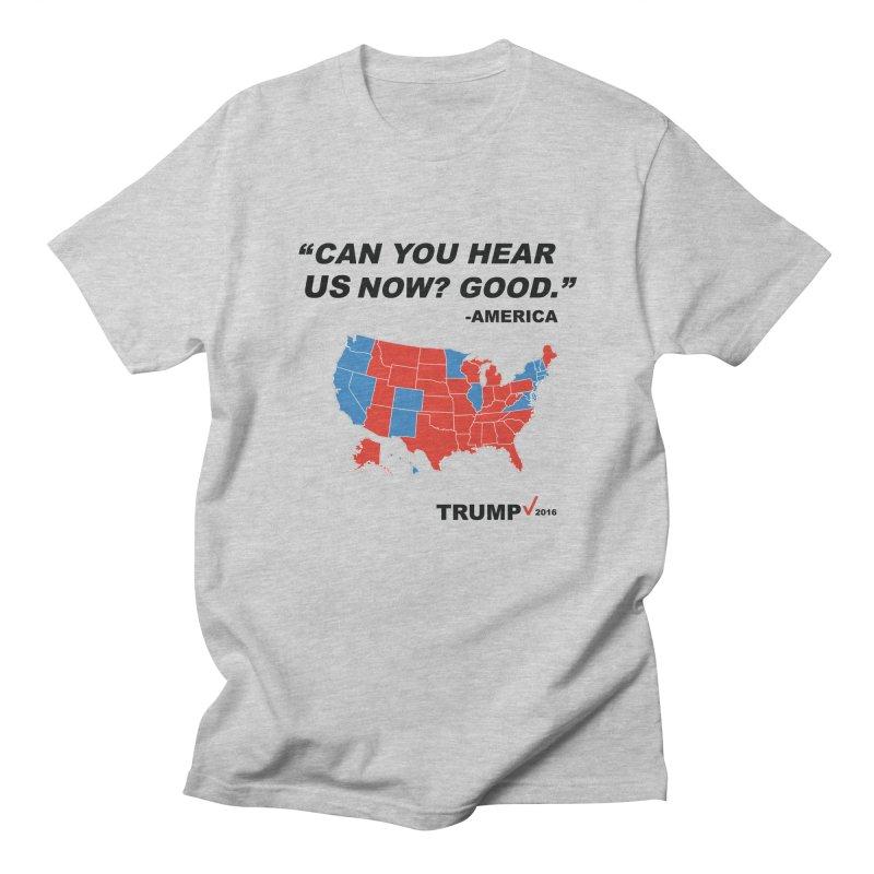 Mr President. Men's Regular T-Shirt by kirbymack's Artist Shop