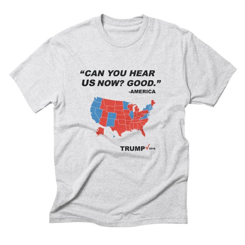 Mr President. Men's Triblend T-Shirt by kirbymack's Artist Shop