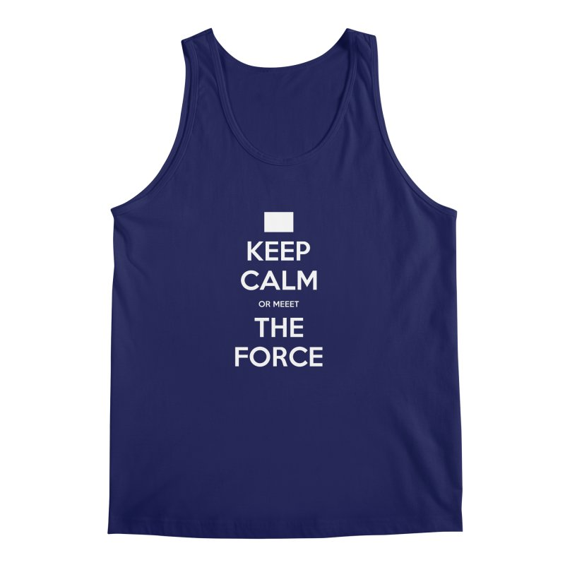 Keep Calm Men's Regular Tank by kirbymack's Artist Shop