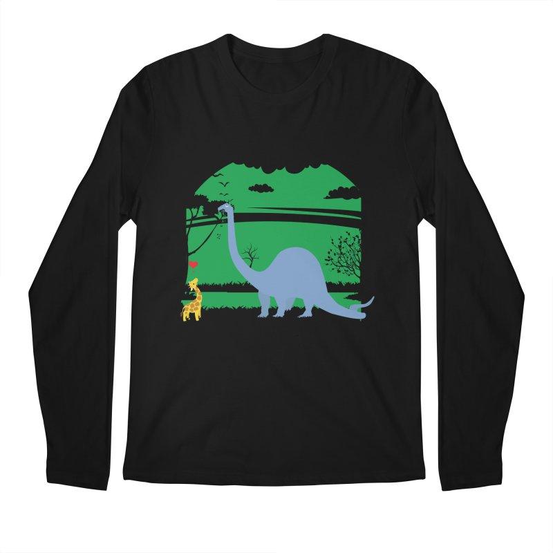 Love Wins! Men's Regular Longsleeve T-Shirt by kirbymack's Artist Shop