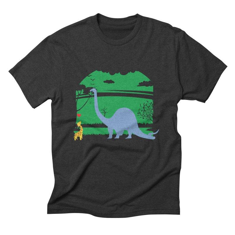 Love Wins! Men's Triblend T-Shirt by kirbymack's Artist Shop