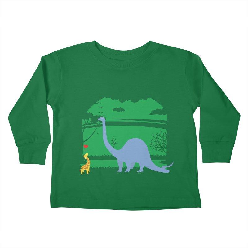 Love Wins! Kids Toddler Longsleeve T-Shirt by kirbymack's Artist Shop