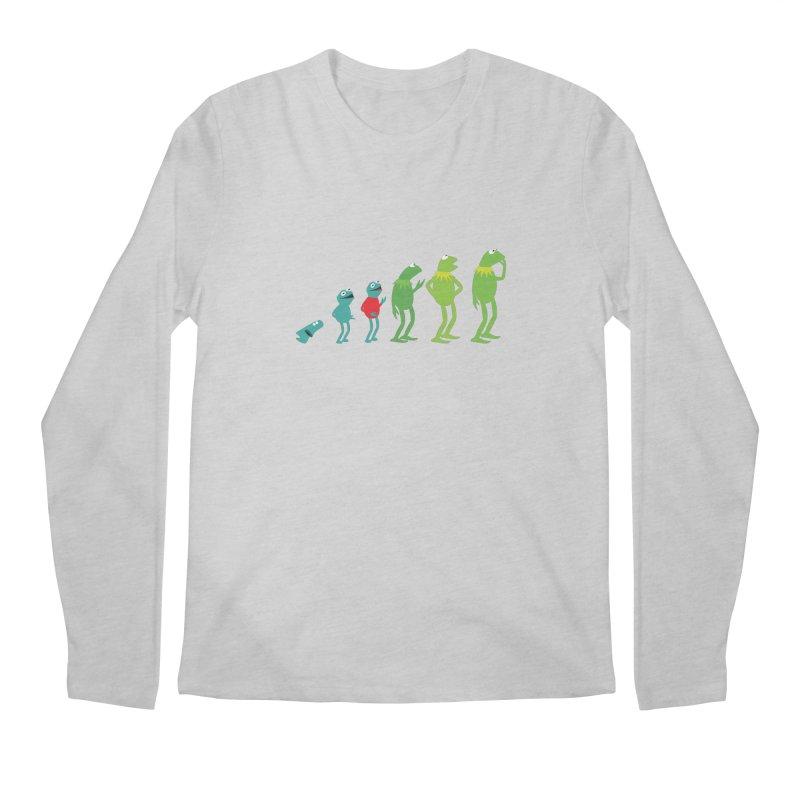 Evolution of Kermit Men's Longsleeve T-Shirt by kirbymack's Artist Shop