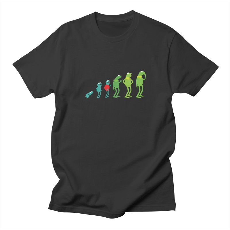 Evolution of Kermit Women's Regular Unisex T-Shirt by kirbymack's Artist Shop