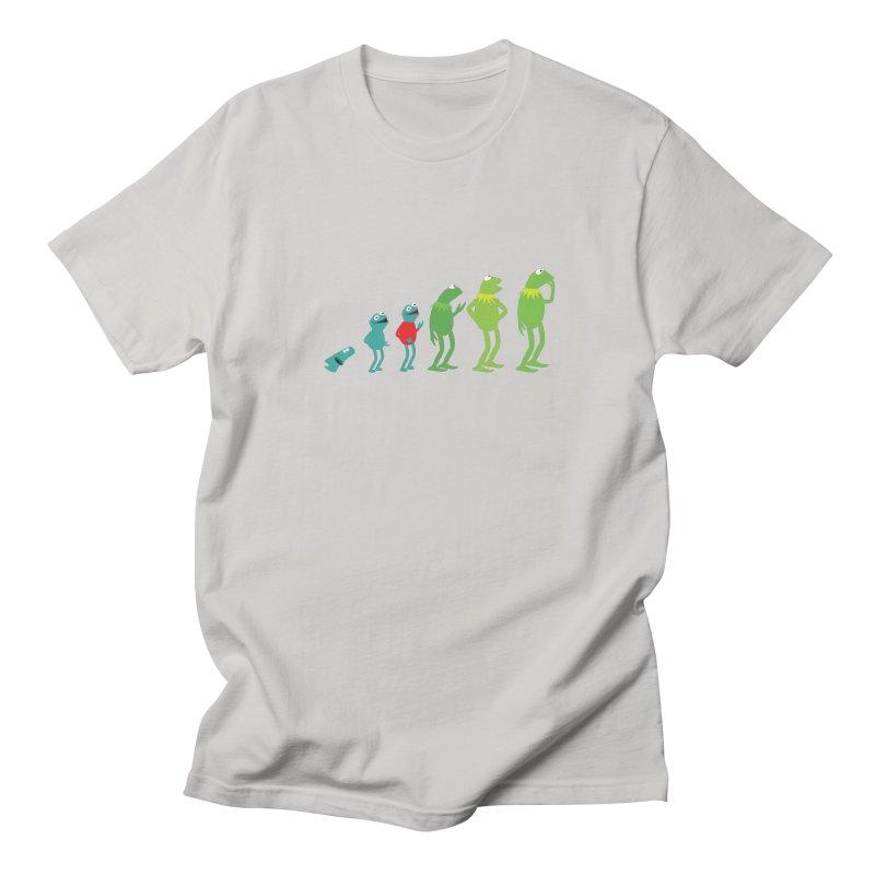 Evolution of Kermit Men's T-Shirt by kirbymack's Artist Shop