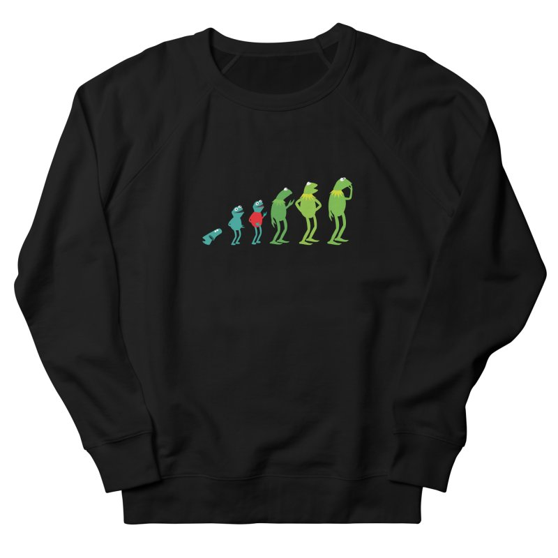 Evolution of Kermit Women's Sweatshirt by kirbymack's Artist Shop