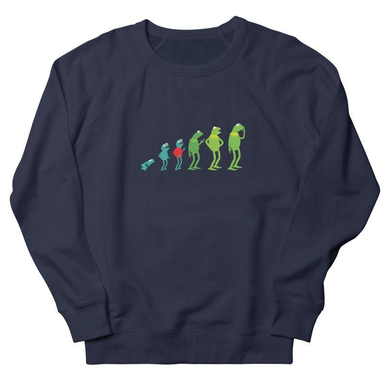 Evolution of Kermit Women's Sweatshirt by kirbymack's Artist Shop