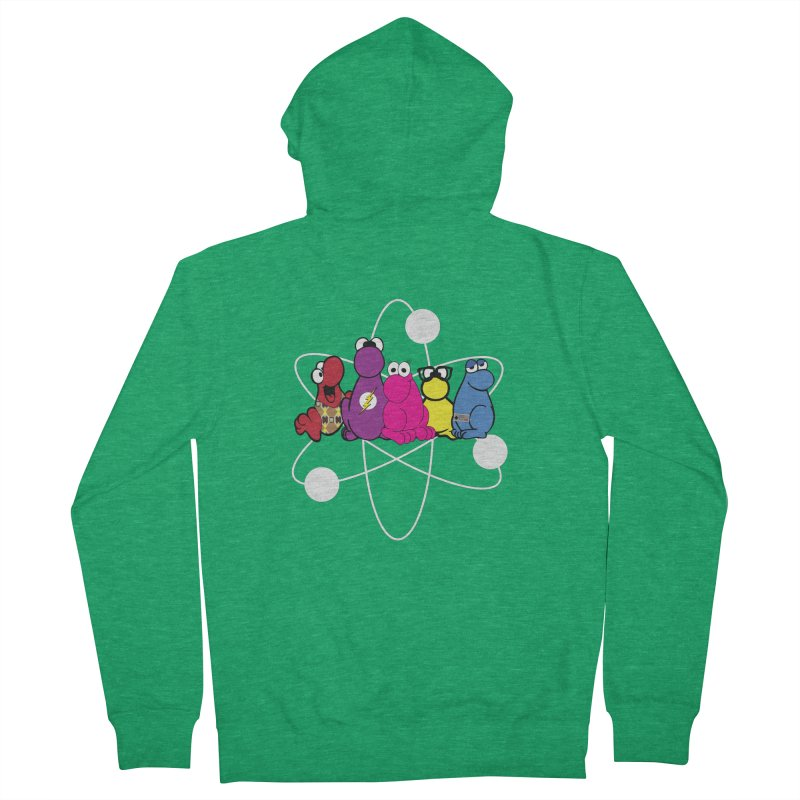 The Big Bang Theory - Nerds! Men's French Terry Zip-Up Hoody by kirbymack's Artist Shop