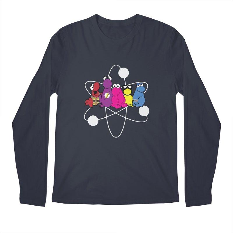 The Big Bang Theory - Nerds! Men's Regular Longsleeve T-Shirt by Kirby Mack's Artist Shop