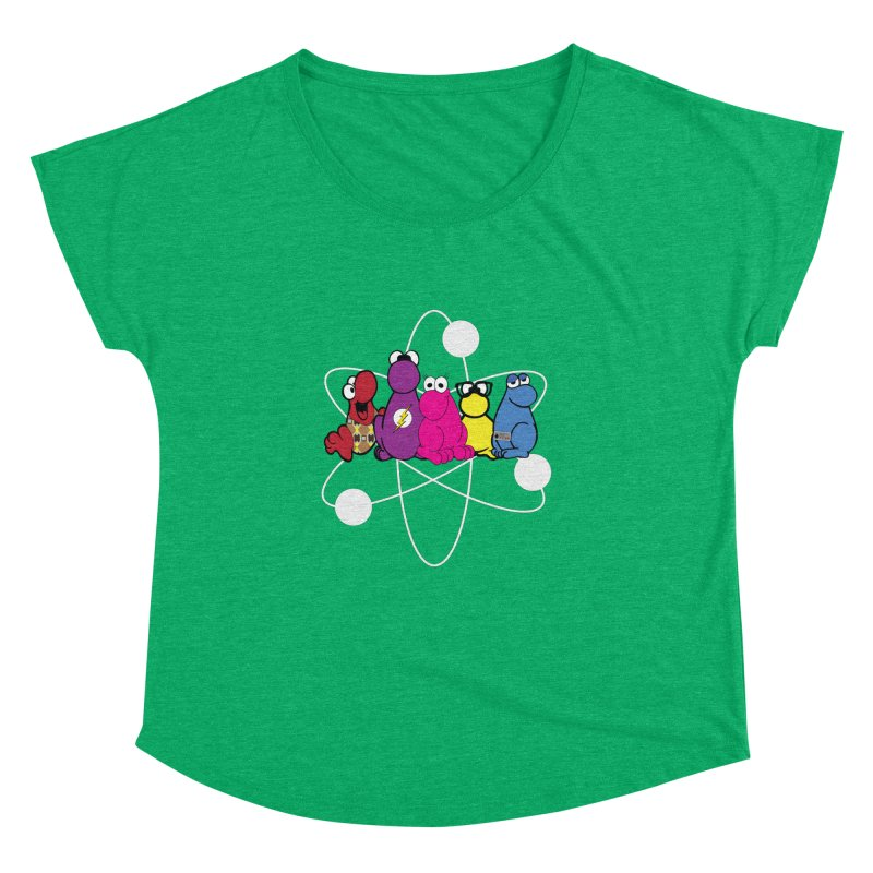 The Big Bang Theory - Nerds! Women's Dolman by kirbymack's Artist Shop