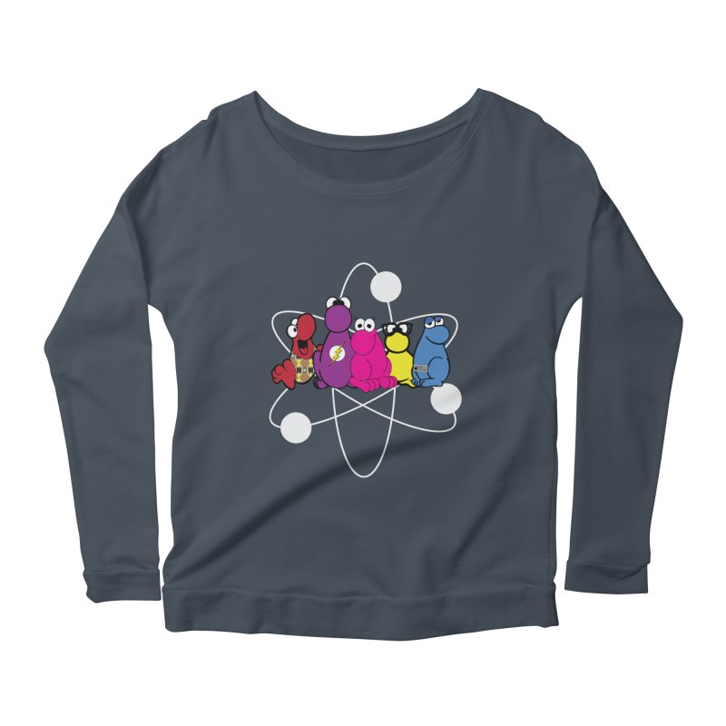 The Big Bang Theory - Nerds! Women's Longsleeve Scoopneck  by kirbymack's Artist Shop
