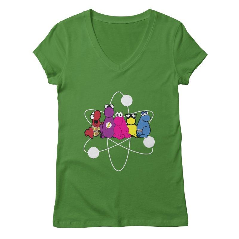 The Big Bang Theory - Nerds! Women's Regular V-Neck by kirbymack's Artist Shop
