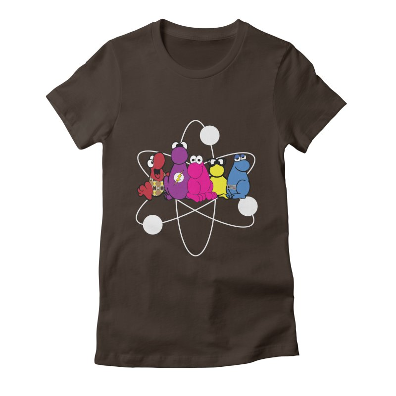 The Big Bang Theory - Nerds! Women's Fitted T-Shirt by kirbymack's Artist Shop
