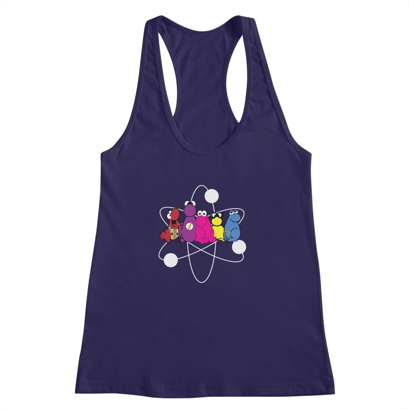 The Big Bang Theory - Nerds! Women's Racerback Tank by kirbymack's Artist Shop