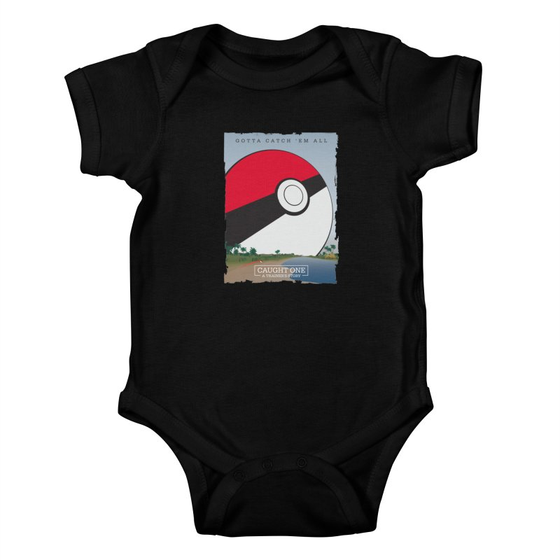 Caught One  |  A Trainer's Story Kids Baby Bodysuit by Kirby Mack's Artist Shop