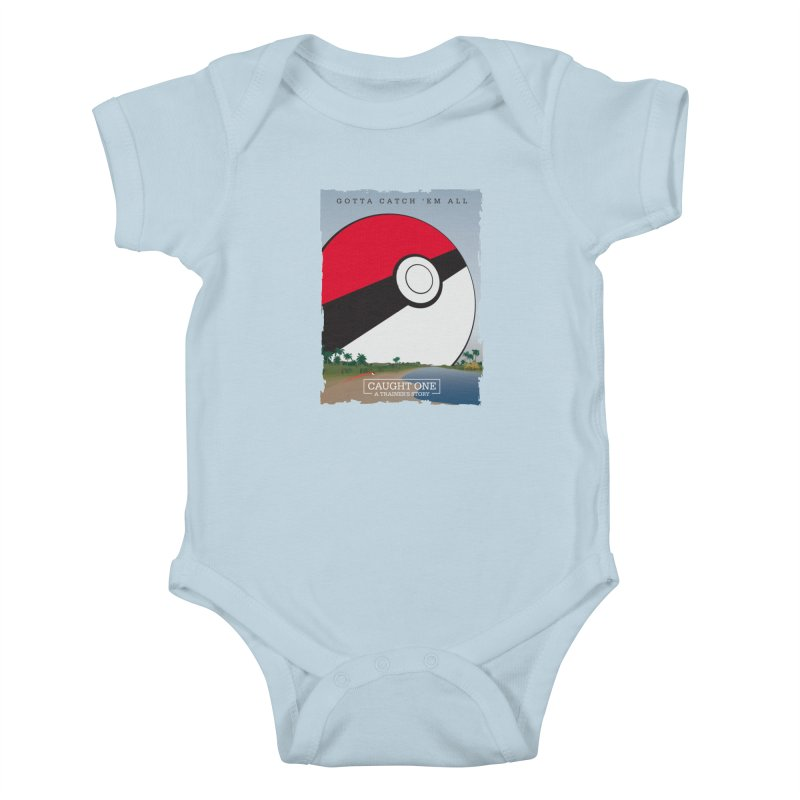 Caught One  |  A Trainer's Story Kids Baby Bodysuit by kirbymack's Artist Shop