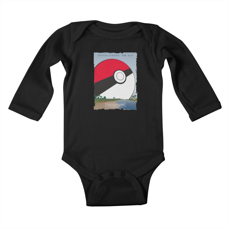 Caught One  |  A Trainer's Story Kids Baby Longsleeve Bodysuit by kirbymack's Artist Shop