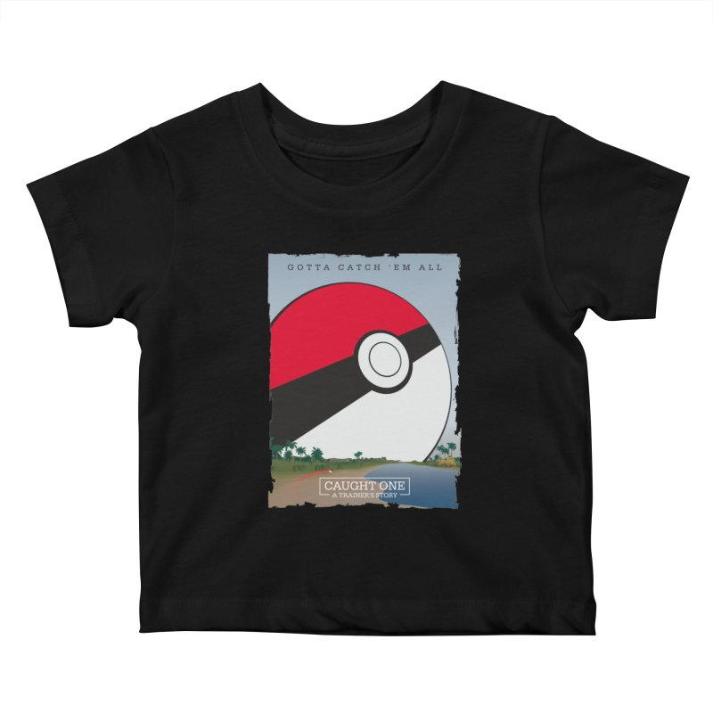 Caught One  |  A Trainer's Story Kids Baby T-Shirt by kirbymack's Artist Shop