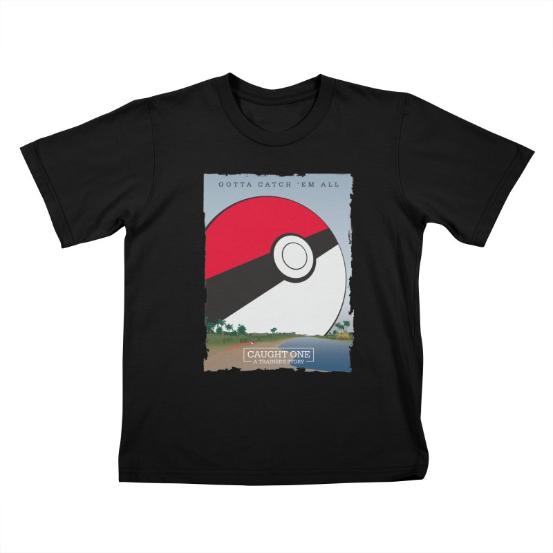 Caught One  |  A Trainer's Story   by kirbymack's Artist Shop
