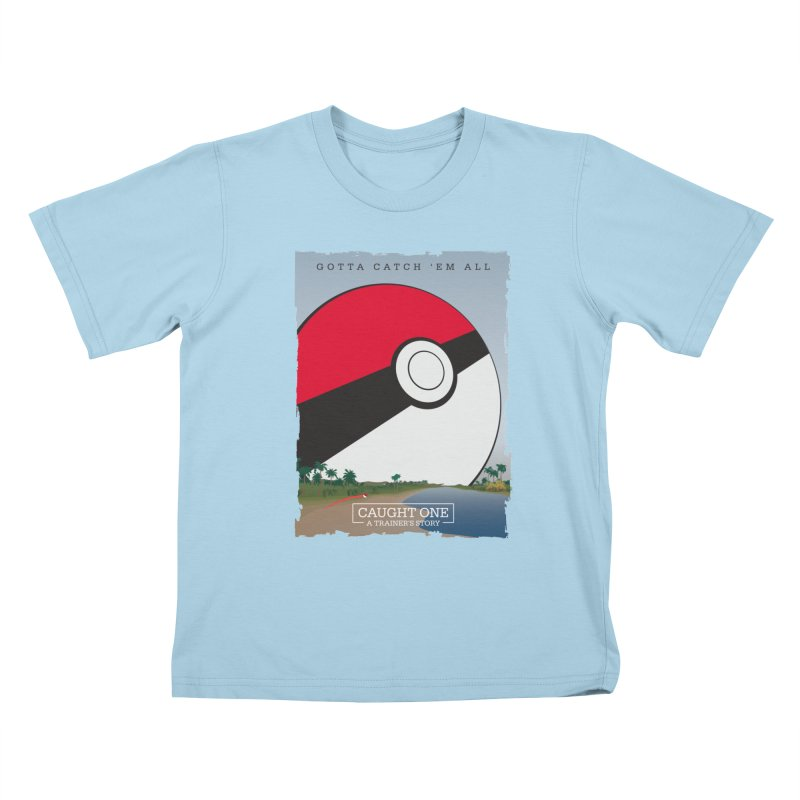 Caught One  |  A Trainer's Story Kids T-Shirt by kirbymack's Artist Shop