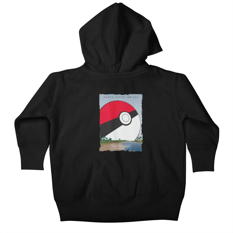 Caught One  |  A Trainer's Story Kids Baby Zip-Up Hoody by kirbymack's Artist Shop