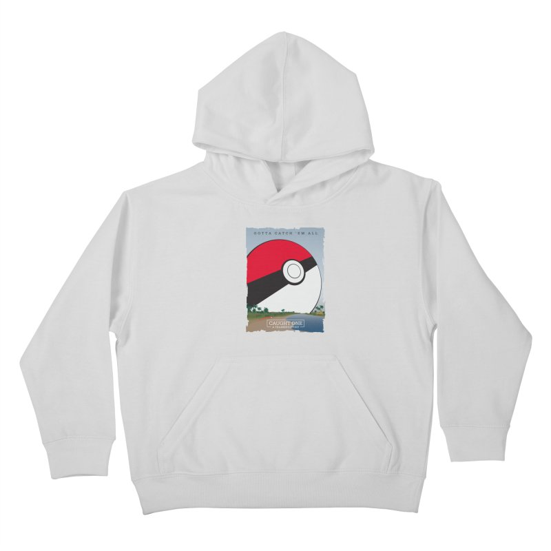 Caught One  |  A Trainer's Story Kids Pullover Hoody by kirbymack's Artist Shop