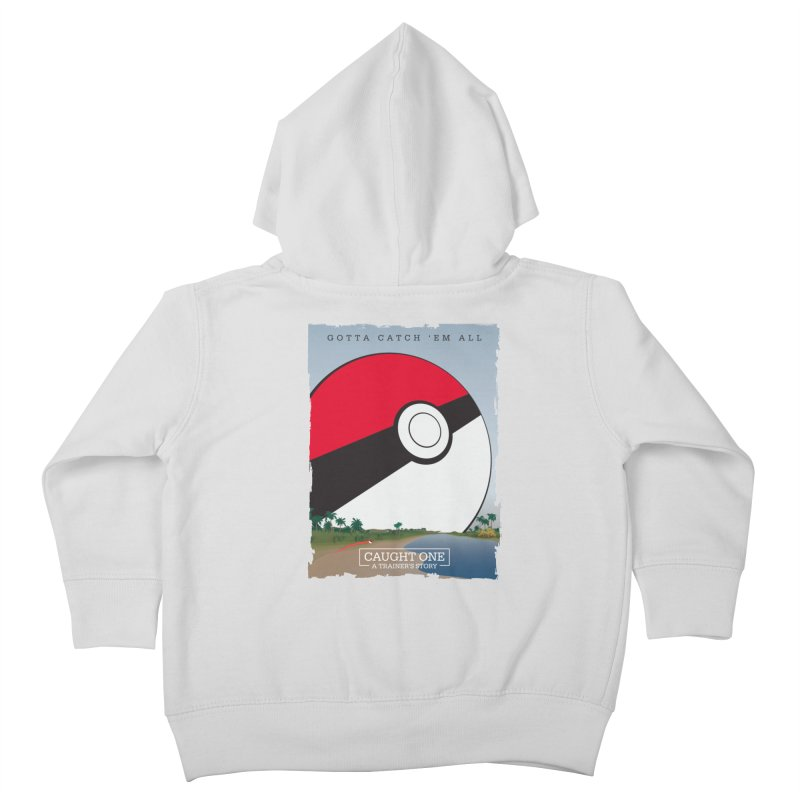 Caught One  |  A Trainer's Story Kids Toddler Zip-Up Hoody by kirbymack's Artist Shop